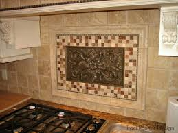 kitchen backsplash medallions pleasing kitchen backsplash medallion simple interior designing