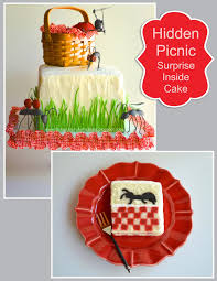 Once Upon A Pedestal Once Upon A Pedestal Surprise Inside Picnic Ant With Checkered