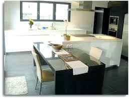 table ilot central cuisine ilot central table table bar cuisine design image ilot central de