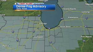 Travel Weather Map Chicago Weather Fog Snarls Morning Travel In Chicago Area