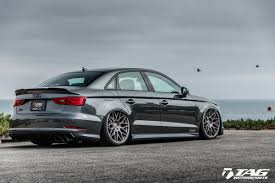 slammed audi a3 tag blackout cosmetic package for audi s3