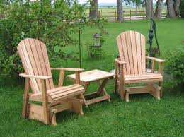 Amish Outdoor Patio Furniture Amish Outdoor Rocker Gliders Amish Glider Cedar Furniture