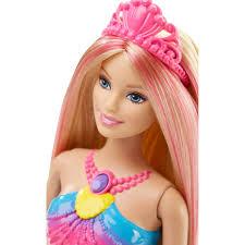 barbie rainbow lights mermaid doll walmart
