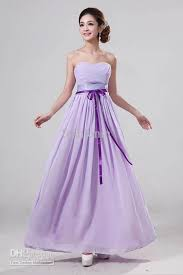 aquellacanciondelos80 light purple strapless bridesmaid dresses