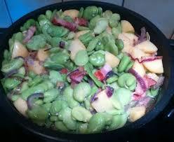 comment cuisiner les feves surgel馥s ragout de fèves aux lardons recette de ragout de fèves aux lardons