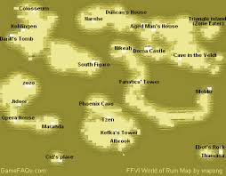 map of vi vi world of ruin map for playstation by vrapong