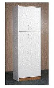 Kitchen Pantry Cabinet Furniture by 4 Door Kitchen Pantry White Kitchen