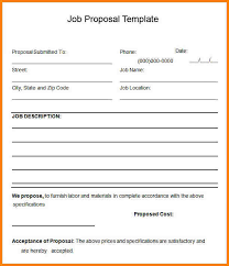 work proposal template work proposal template 15 free sample