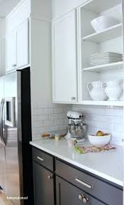 kitchen cabinet colors before afterwhite cabinets wood island