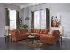 fusion furniture the 3515 16 maxwell taupe sectional space