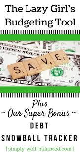 Budgeting Spreadsheets by Best 25 Debt Snowball Spreadsheet Ideas On Pinterest The Debt