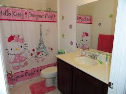 Kids Bathroom Design Ideas New 80 Hello Kitty Bathroom Decor Ideas Decorating Design Of Best
