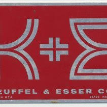 Keuffel Esser Drafting Table Keuffel U0026 Esser Co A Manufacturer Of Drafting Surveying