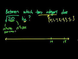 Sqrt 261 Consecutive Integers And Square Roots 11 Youtube