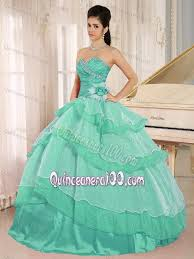 dresses for a quinceanera aquamarine quinceanera dresses with beading and ruched bodice