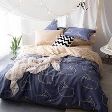 Cheap King Size Bedding Online Get Cheap Blue Brown Bedding Aliexpress Com Alibaba Group
