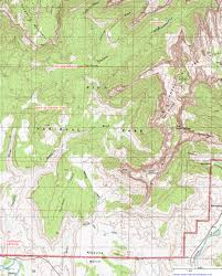 Map Of Utah National Parks by Topographic Map Of Coalpits Wash Zion National Park Utah