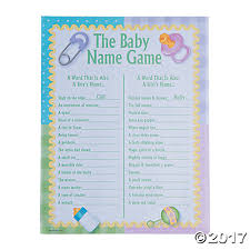 baby showergames baby names baby shower trading
