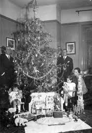 brief pictorial account of what children got for christmas decades ago