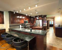 kitchen island track lighting track lighting for kitchen ceiling petrun co