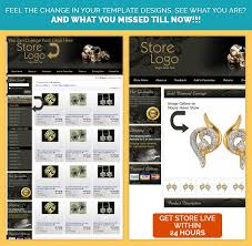 professional ebay listing template sparkling diamond theme