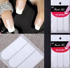 french manicure tip guide strips u2013 great photo blog about manicure