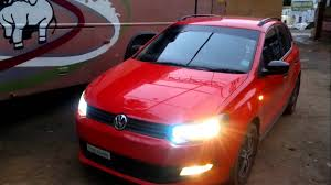 volkswagen modified vw polo modified car hid light youtube