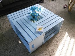 How To Make Wine Crate Coffee Table - coffee table frightening crate coffee table photo design wine