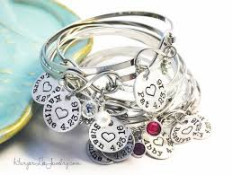 stainless charm bracelet images Custom infinity bangle bracelet stainless steel charm bracelet jpg