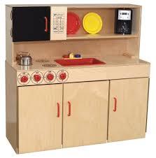 wood designs play kitchen wood designs 5 n 1 kitchen center school office direct com