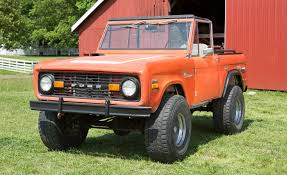 ford bronco ford bronco restoration service launches