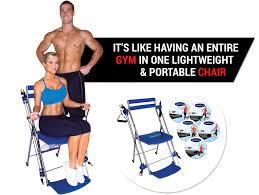 Chair Gym Com Emson Chair Gym Total Body Workout