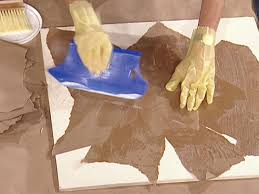 Plastic Paint For Walls How To Create Faux Leather Using Kraft Paper How Tos Diy