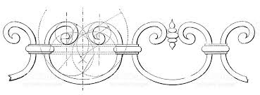 design of ornamental ironwork stock vector 541577734 istock