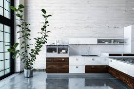 cuisine luxueuse cuisine luxueuse en appartement moderne illustration stock