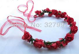 ribbon hair bands discount x wedding flower girl hair bands for famale headdress