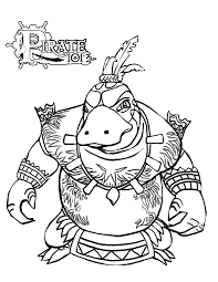 pirate coloring pages printable pirates with treasure more free
