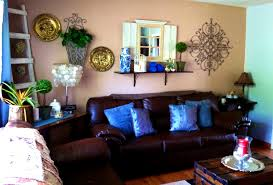 Chocolate Brown And Blue Curtains Furniture Formalbeauteous Collection Grey And Brown Living Room