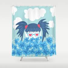 eyeglasses shower curtains society6