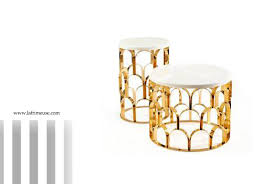 when design inspires 2 pineapple or coffee tables la frimeuse