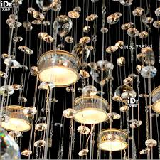 High Quality Chandeliers Online Shop Modern Europecircular Hanging Wire Crystal Lamp Living