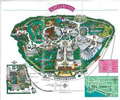 Map Of Mackinac Island Disneyland In Anaheim U2013 January 1992 Adventures In Travel
