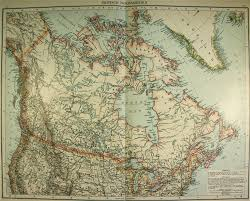 Maps Of Canada by Map Of Canada 1893