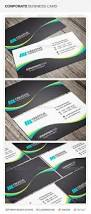 creative corporate business card template with qr code available