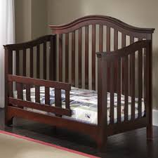 cribs that convert to toddler bed creations mesa convertible crib in java