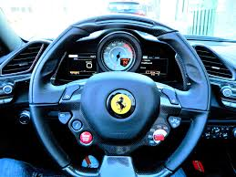 ferrari speedometer icons of speed picking up the blu corsa ferrari 488 spider