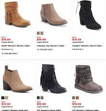 womens boots at kohls the kohl s black friday sale s boots just 16 99