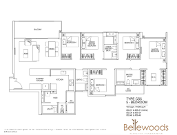 Ecopolitan Ec Floor Plan by 2 3 4 5 Bedrooms Units For Sale At Ec Bellewoods