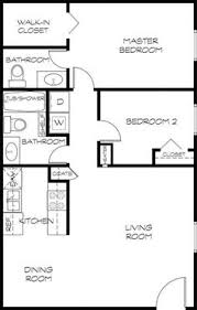 Two Bedroom House Plans by A 20 U0027 X 20 U0027 400 Sq Ft 2 Bedroom With 3 4 Bath That I U0027m Calling The