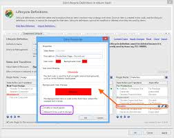 controlling definition controlling visibility and applicability of an item revision